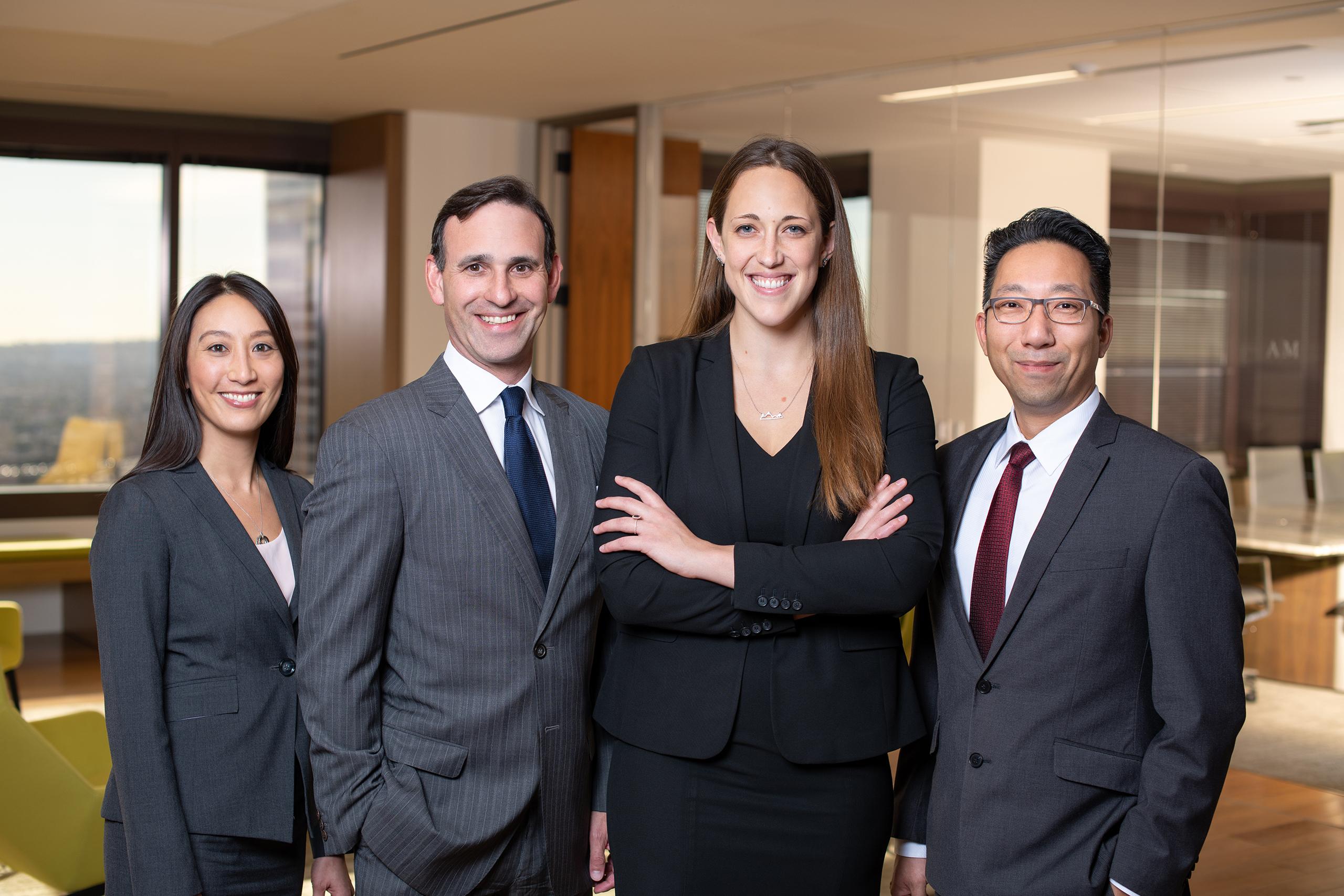 Marissa Dennis, Scott Leipzig, Abby Bloetscher, and Tim Hsu